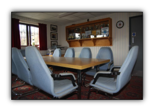 Board Room at Treforest FC